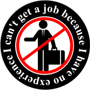You know what they say about excuses....Look it up. It's too crude for my to post on my blog, but it is so true. Make it happen. You can find a job with no experience.